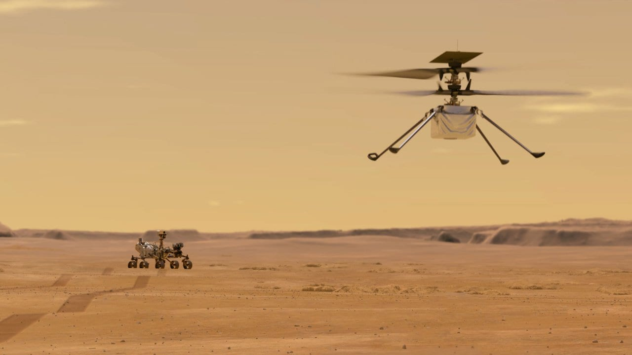 NASA's Mars 2020 helicopter is named 'Ingenuity' by Alabama high ...
