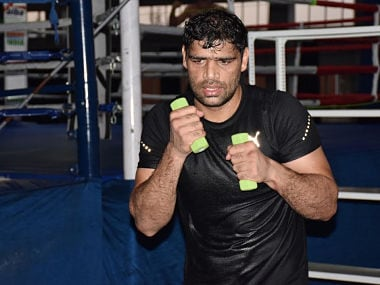 Coronavirus Outbreak: Tokyo Olympics 2020-bound boxer Satish Kumar using tyres and ropes to keep fit during lockdown