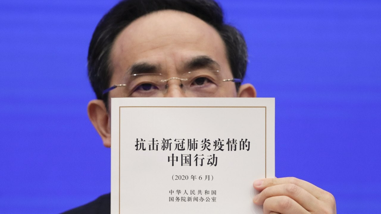 China defends its Coronavirus efforts in an 84 page report, says they wasted no time in sharing information