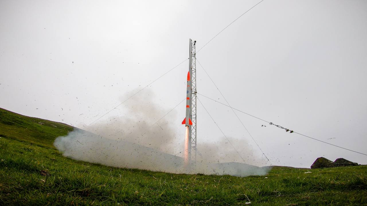 Scottish startup Skyrora successfully launched its first rocket, Skylark Nano, from Shetland