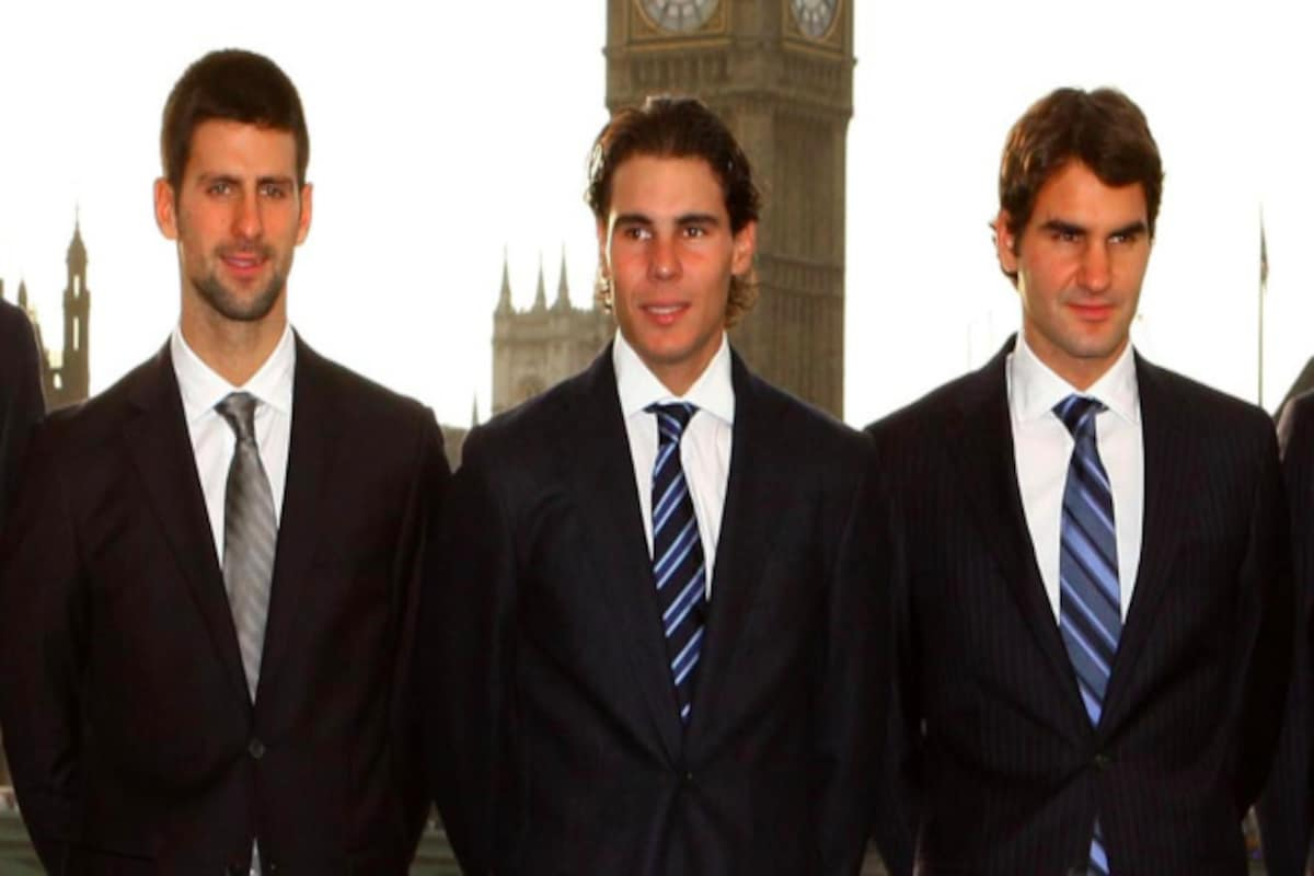 Novak Djokovic Says Big Three Rivalry With Roger Federer Rafael Nadal A Great Promotion For Tennis Sports News Firstpost