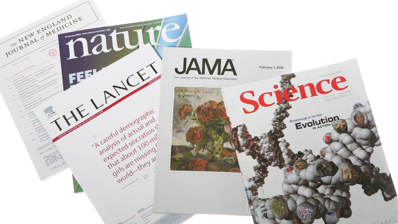 25 most prestigious medical journals to publish in