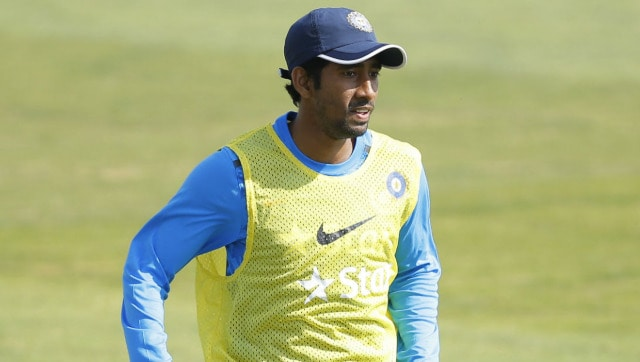 Wriddhiman Saha says drills at home, along with father's support, helping him stay fit during nationwide lockdown