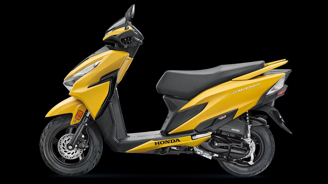 Honda Grazia BSVI launched in India in two variants, pricing starts at Rs 73,336