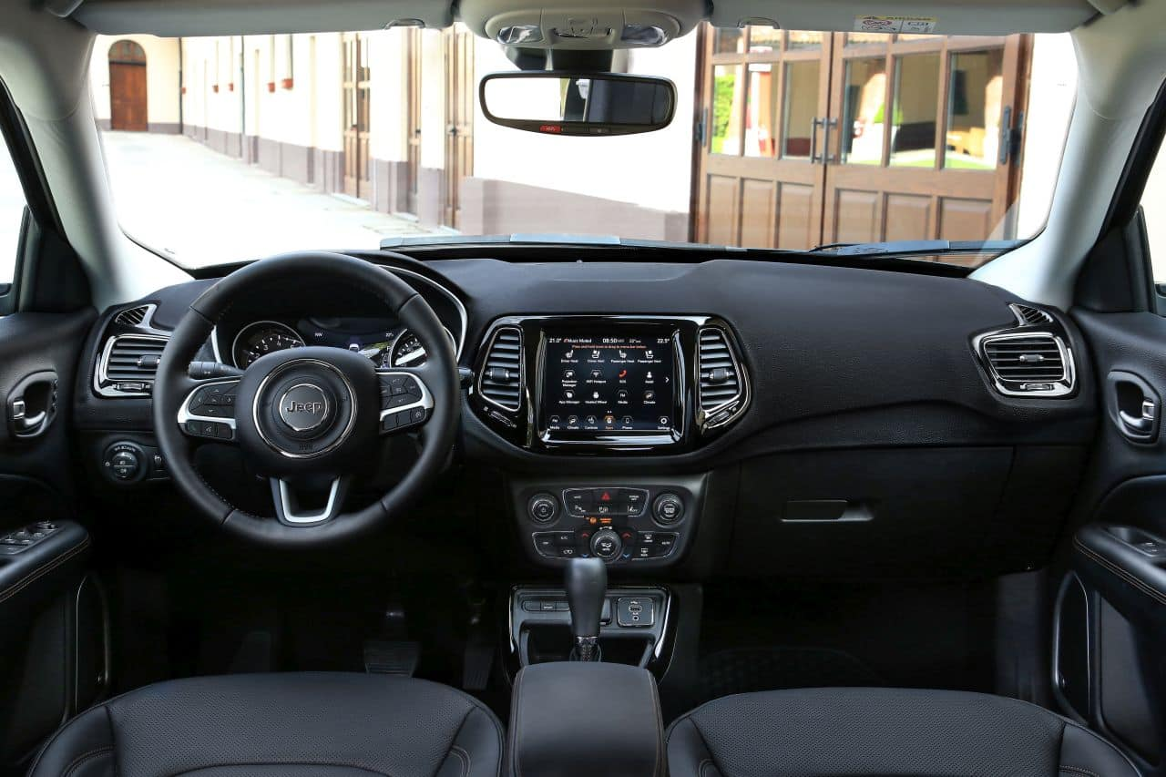 2021 Jeep Compass Facelift interiors