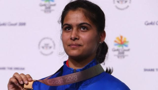 Shooter Manu Bhaker receives first dose of COVID-19 vaccine in build-up to Tokyo Olympics 2020