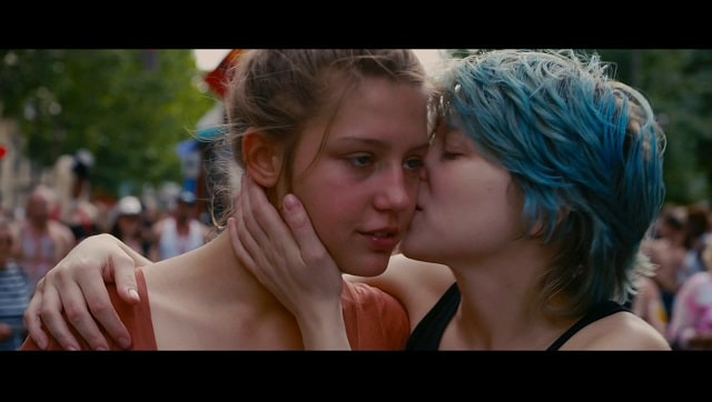 A still from Blue Is the Warmest Colour. YouTube screengrab.