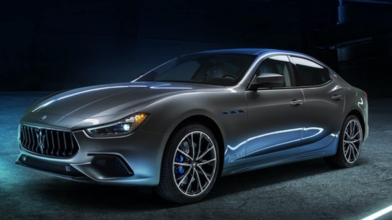 Maserati Ghibli Hybrid, companys first vehicle for sustainable mobility, showcased