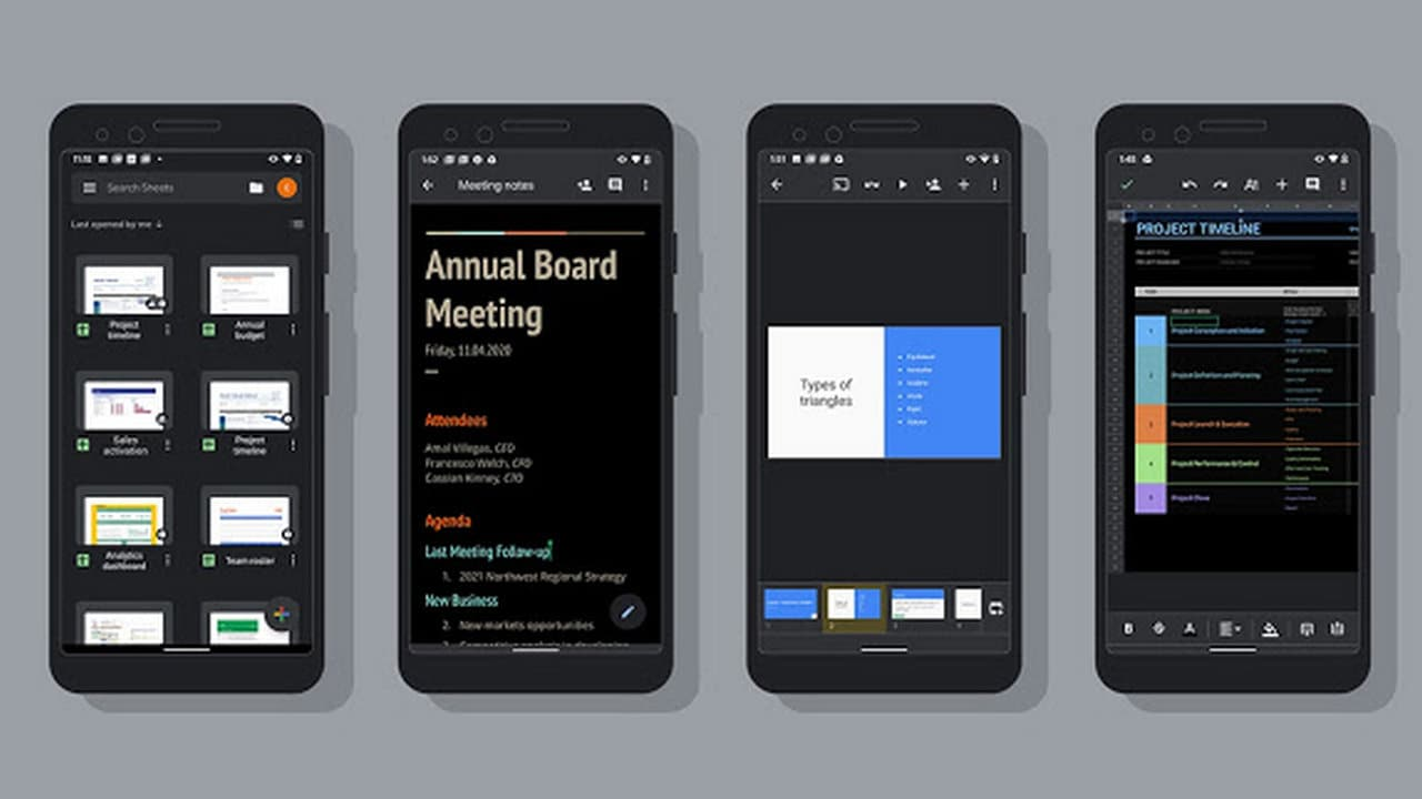 Google starts rolling out dark mode on Docs, Sheets and Slides: Heres how you can enable it