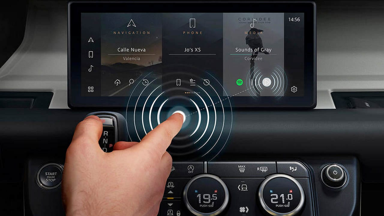 Jaguar Land Rover teams up with University of Cambridge to develop an AI-based contactless touchscreen tech- Technology News, Firstpost