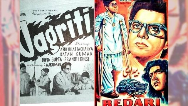 How the films Jagriti and Bedari, mirroring each other, underline India and Pakistan's shared culture