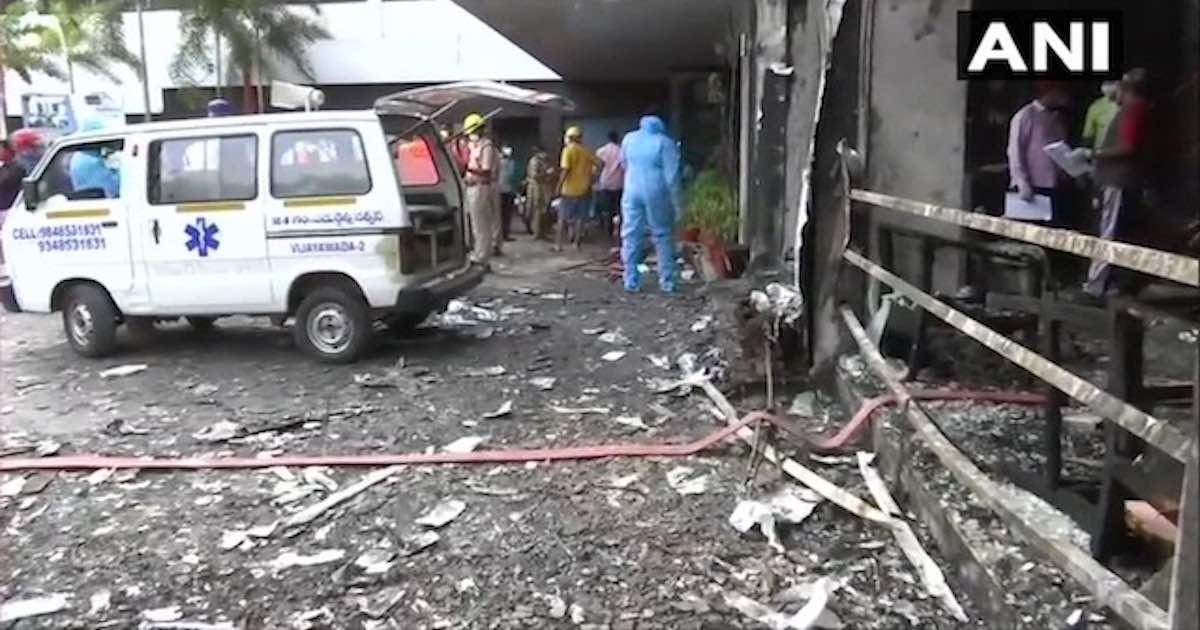 Nine dead after blaze at makeshift COVID-19 facility in Andhra Pradesh's Vijayawada; CM orders probe