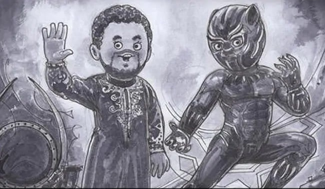 Amul India Pays Tribute To Black Panther Star Chadwick Boseman With Artwork Marvel Of An Actor Entertainment News Firstpost