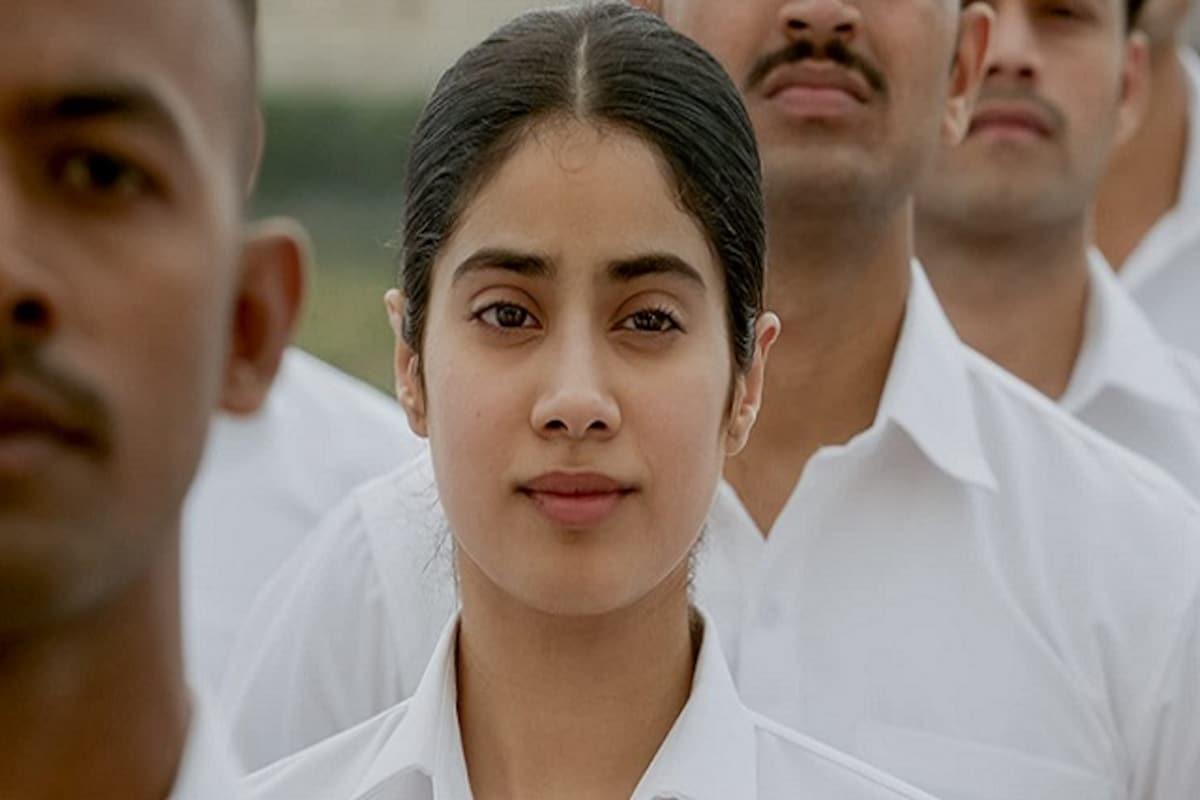 With Gunjan Saxena The Kargil Girl Janhvi Kapoor Finally Takes The Flight She Has Longed For Entertainment News Firstpost
