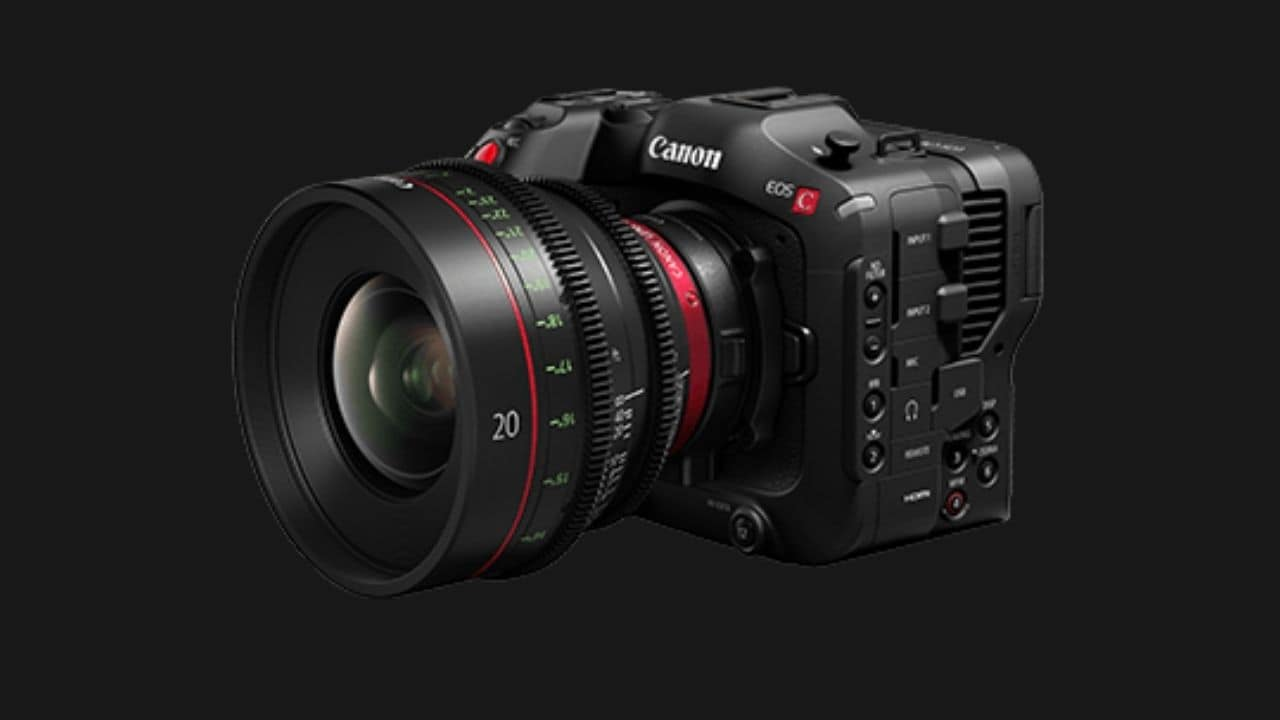 Canon EOS C70 camera announced, supports 4K / 120P high frame rate recording