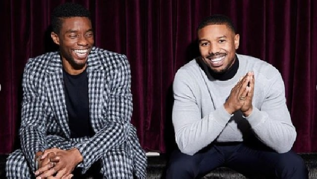 Michael B Jordan pays tribute to his Black Panther co-star Chadwick Boseman: 'Wish we had more time'