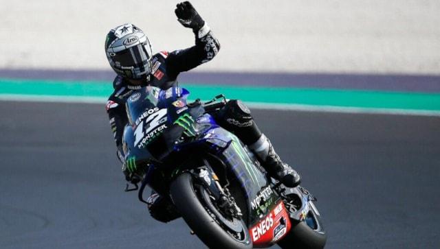 MotoGP 2021: Maverick Vinales sets fastest time in Dutch MotoGP first practice as Marc Marquez crashes