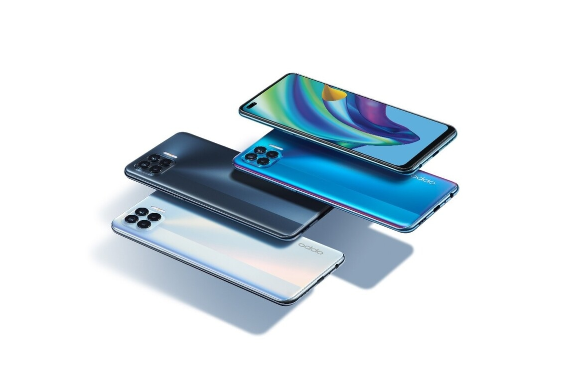 The sleekest phone with an ultra-light design - meet the unstoppable OPPO F17 Pro!
