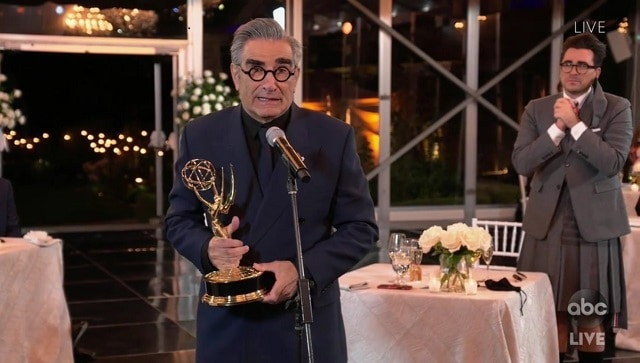 Emmys 2020: Schitt's Creek sweeps comedy category with nine nods, sets records for most wins