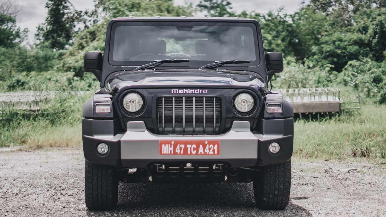2020 Mahindra Thar front