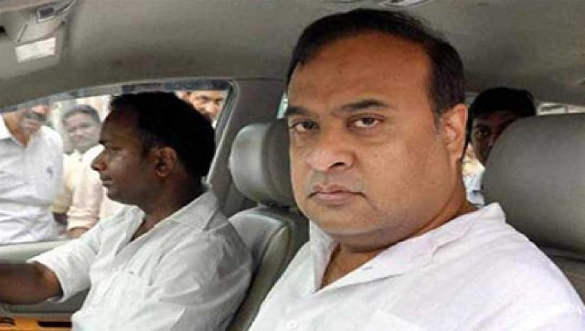 Himanta Biswa Sarma says BJP will send Congress MLA Sherman Ali Ahmed to jail after Assam polls for 'lungi' remark - Politics News , Firstpost