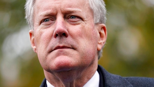 We are not going to control the pandemic, admits White House Chief of Staff Mark Meadows