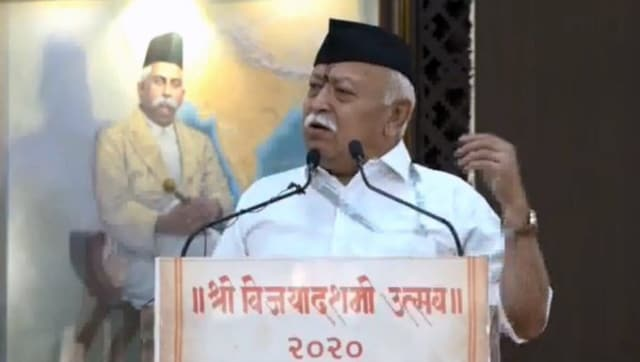 At RSS' Dussehra event, Mohan Bhagwat defends CAA, hails govt for response to COVID-19 - India News , Firstpost
