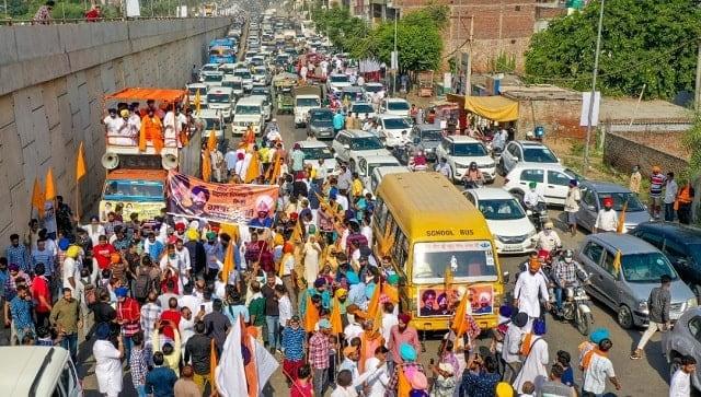 Shiromani Akali Dal leaders take out 'kisan marches' against farm laws in Amritsar, Bathinda, Anandpur Sahib