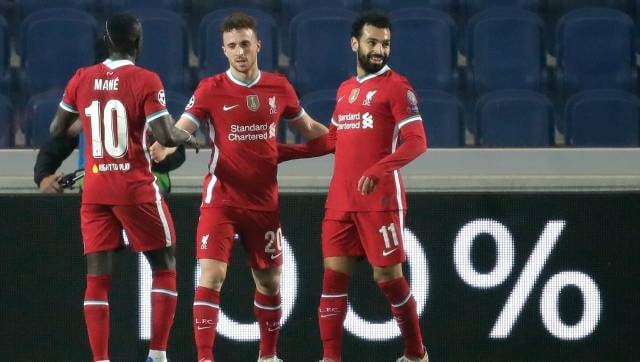 champions league liverpool s hat trick hero diogo jota relishing playing alongside world class salah mane sports news firstpost liverpool s hat trick hero diogo jota
