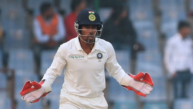 India vs Australia: Wriddhiman Saha hits the nets, shows signs of recovery  from hamstring injury - Firstcricket News, Firstpost