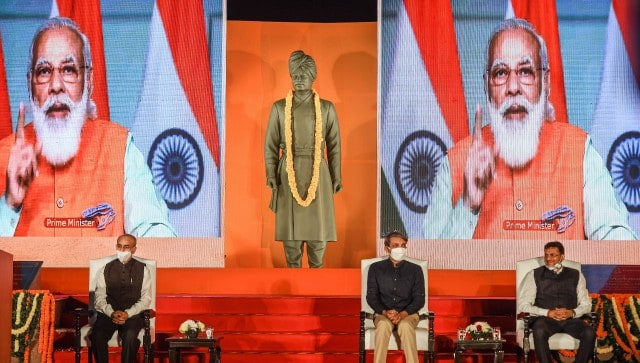 Narendra Modi unveils Vivekananda statue at JNU amid student protests, says 'ideology should not override national interest'