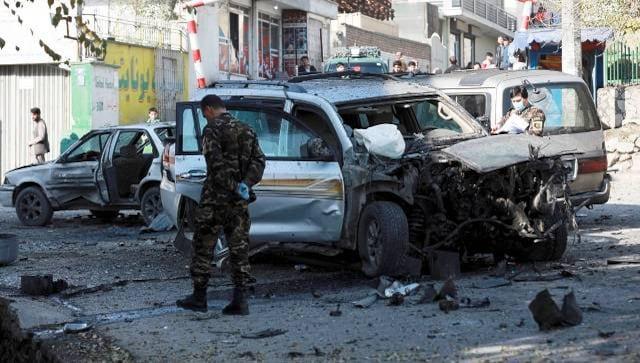 انفجارهای کابل: گزارش می گوید انفجارهای متعدد پایتخت افغانستان را لرزاند پیش از دیدار مایک پمپئو با مذاکره کنندگان طالبان