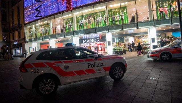 مقامات سوئیسی حمله چاقو را به عنوان مجروح احتمالی مربوط به تروریسم به دو نفر مجروح کردند