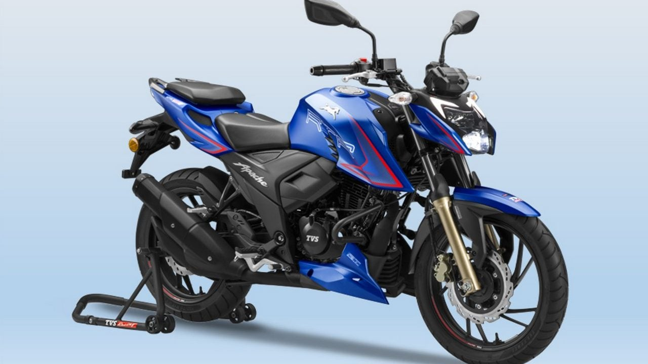 New TVS Apache RTR 200 4V with new riding modes launched in India at Rs 1.31 lakh- Technology News, Gadgetclock