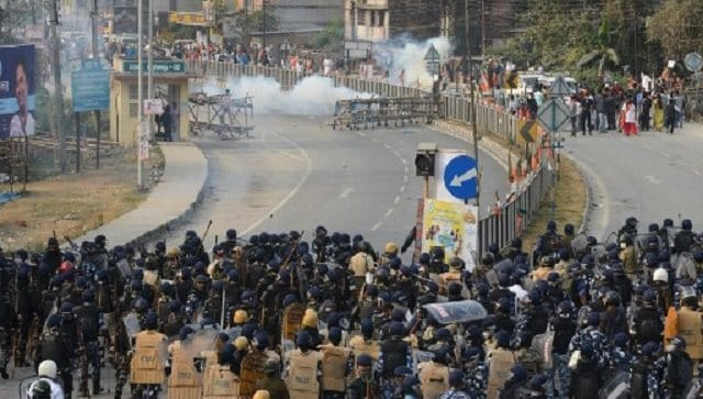 One dead as BJP workers clash with police in Siliguri; party calls bandh in north Bengal on Tuesday