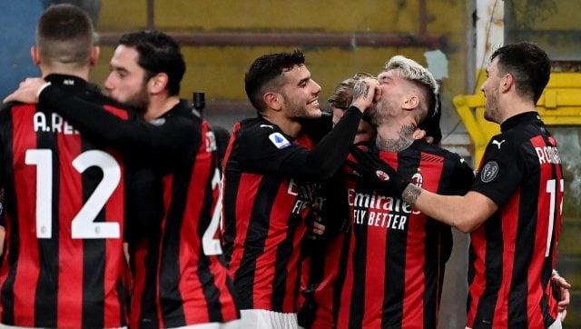 Serie A: AC Milan see off Sampdoria to maintain five-point lead ...