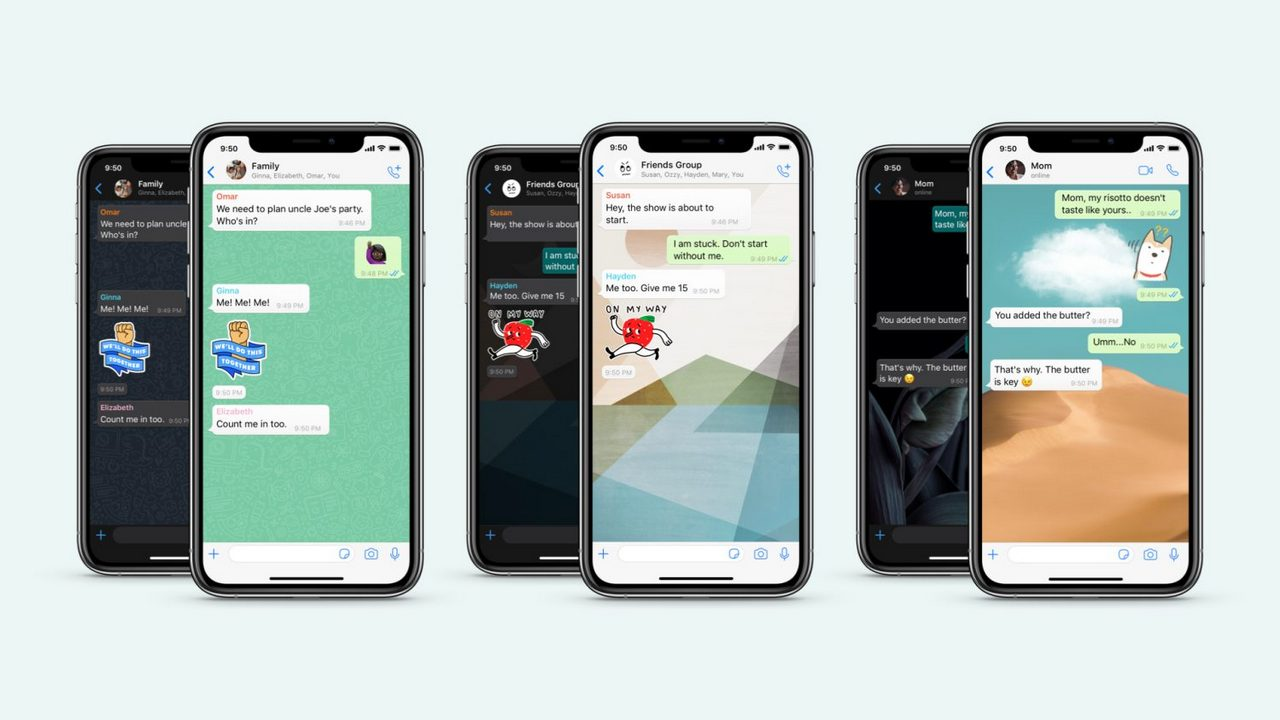 WhatsApp introduces new custom, doodle wallpapers, stickers packs and more- Technology News, Gadgetclock