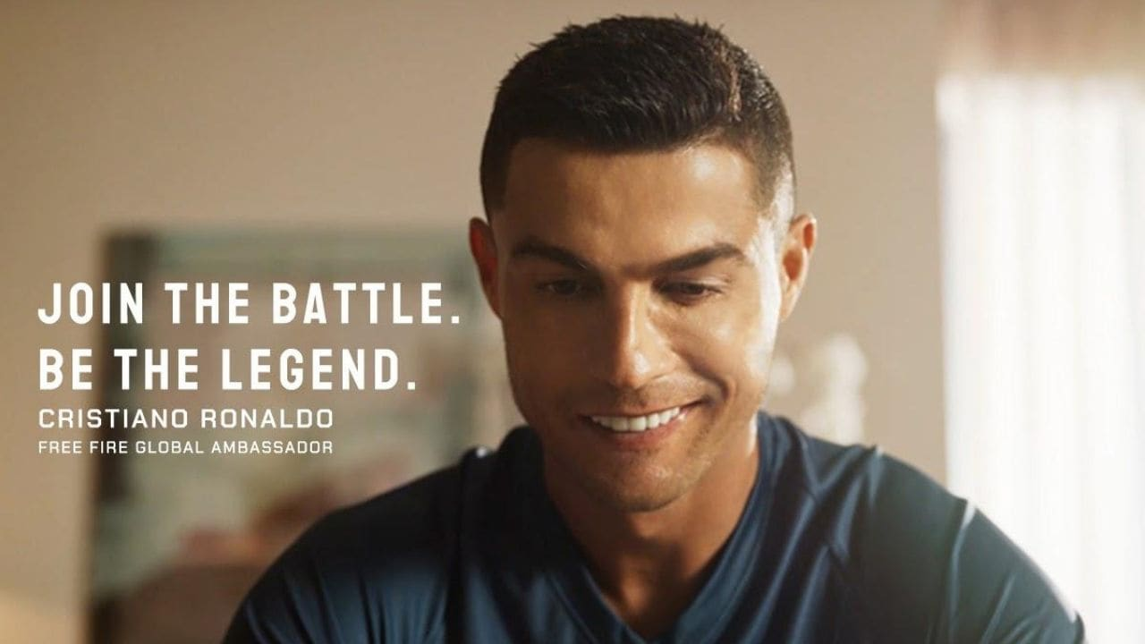 Cristiano Ronaldo is the latest global brand ambassador for the Free Fire game