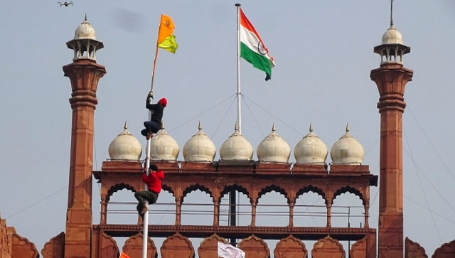 Republic Day violence: Delhi Police arrest man who climbed Red Fort tomb on 26 January