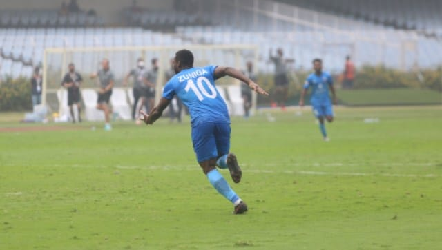 I-League 2021: Solitary Clayvin Zuniga goal sees Churchill Brothers beat Punjab FC - Sports News , Firstpost
