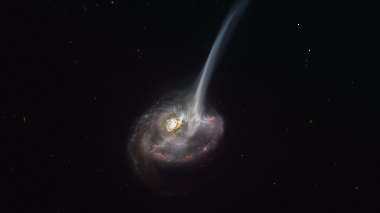 Scientists witness the death of a galaxy 9 million light-years away unfold, in a remarkable first - Firstpost