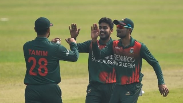 Bangladesh vs West Indies: Mehidy Hasans career best..5 lead hosts to series-clinching victory in second ODI - Firstpost