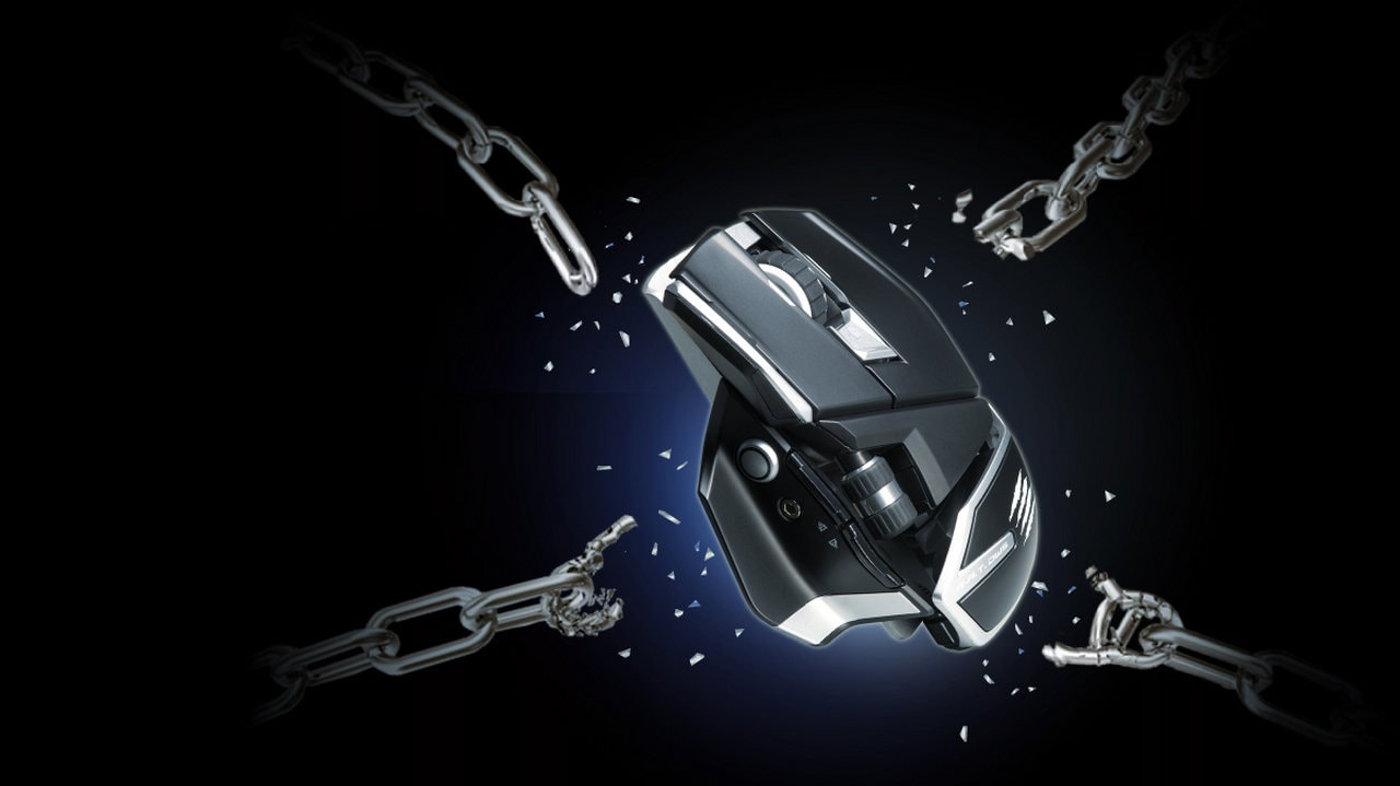 Mad Catz announces new gaming mouse RAT DWS Wireless with up to 300 hours battery-life