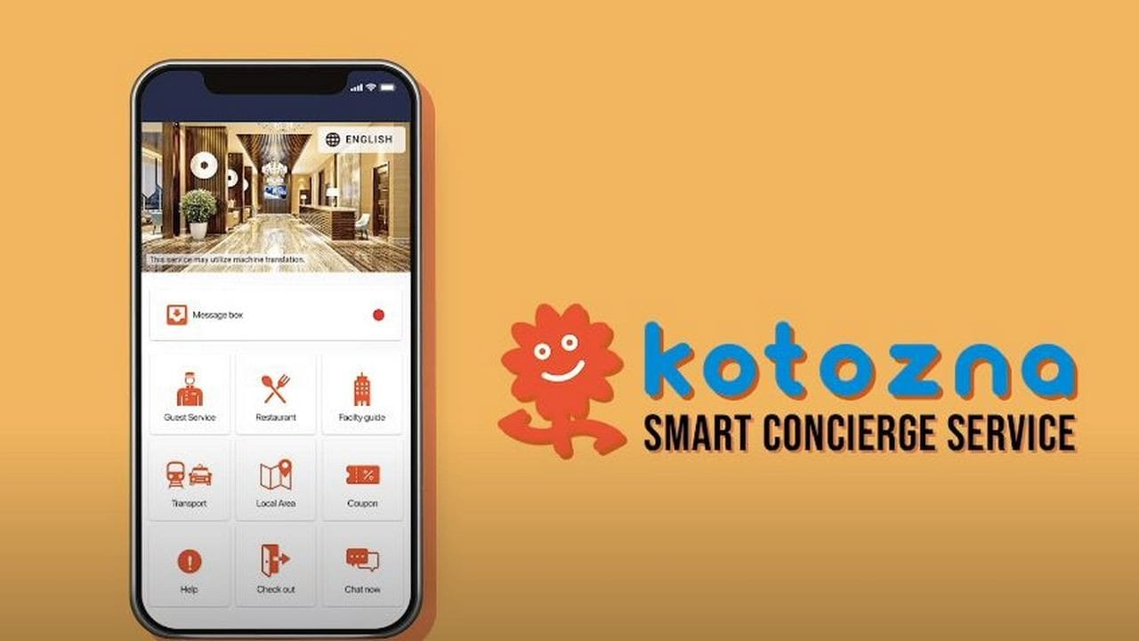 Kotozna In-room, a smart concierge service that helps users order food, book cab and more by translating into 109 languages, launched- Technology News, Gadgetclock