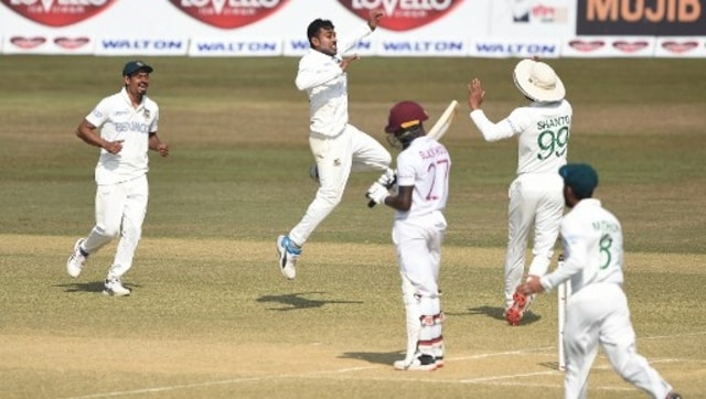 Highlights, Bangladesh vs West Indies, 1st Test Day 4 at Chattogram, Full cricket score: Hosts on top as Windies set target of 395 - Firstcricket News, Firstpost