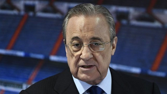 LaLiga: Real Madrid chief Florentino Perez presents ...