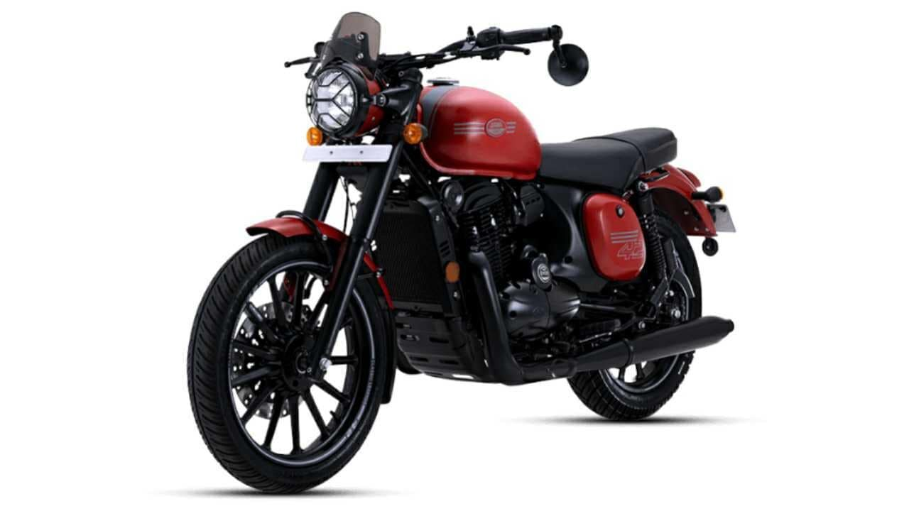 New Jawa 42 launched at Rs 1.84 lakh; features all-black theme and alloy wheels