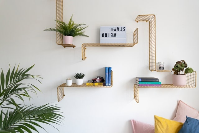 Fabulous wall shelves to brighten up your living room.-Amazon-fp News , Firstpost
