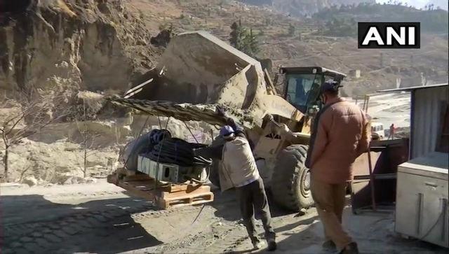 Uttarakhand floods: Water accumulation inside Tapovan tunnel hampers rescue efforts