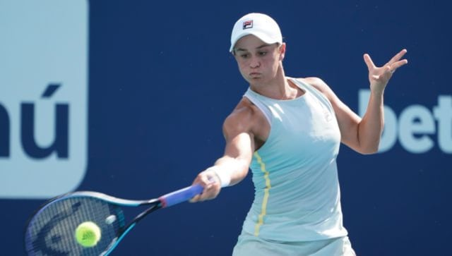 Madrid Open: Ashleigh Barty makes perfect start with comfortable win over Shelby Rogers